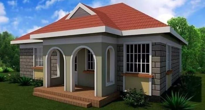 Modern House Plans In Kenya Kenyan House Plans With Photos House Plans In Kenya Free In 2020 2 Bedroom House Design House Designs In Kenya Bedroom House Plans