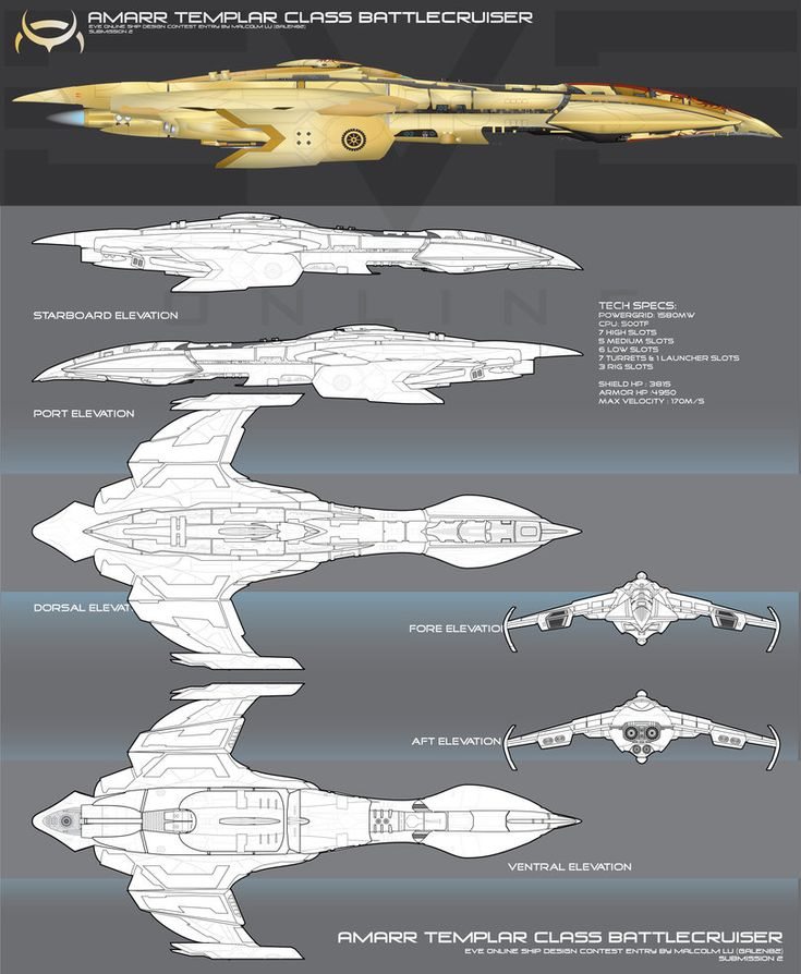 The Templar was the original design template for a new Tier of Battlecruiser for the Amarr Empire, with a Heavier emphasis for drones. The design lineage of the ship carriers all the styling of the...