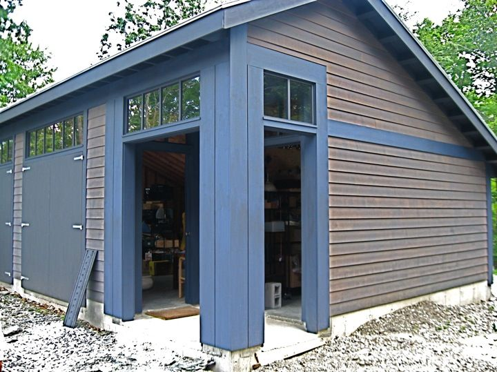 Box Truss Carport : Best of images saltbox garage plans home