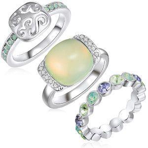 3 pierścionki Océane, rozm. 50 cena 159zl