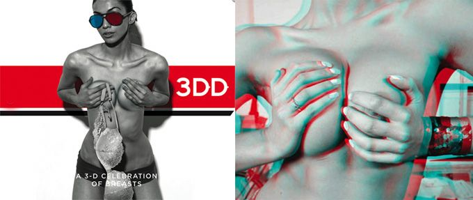 The Cool Hunter - A Book of Boobs in 3-D