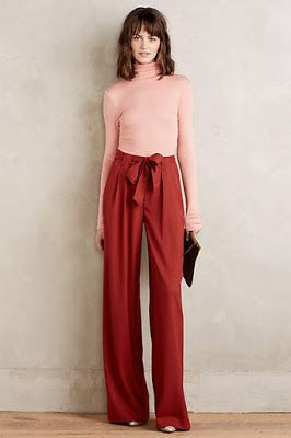 Love this look. I'm hoping for a late growth spurt, so I could possibly wear pants this tall.