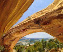 Moonshine Arch, Vernal Utah