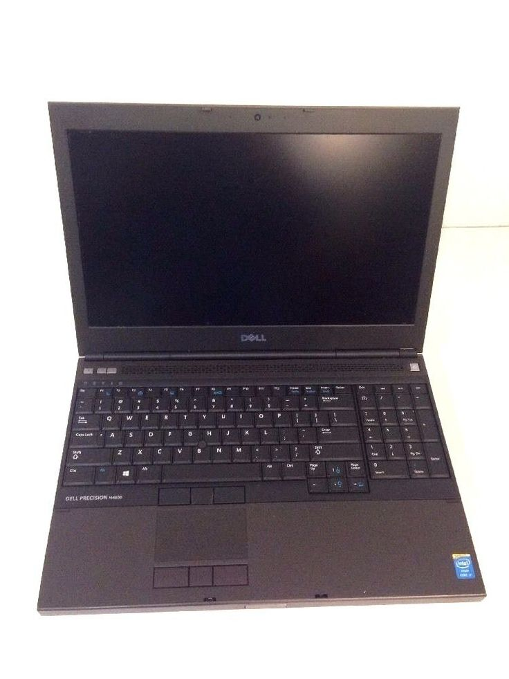 "Dell Precision M4800 15.6"" Notebook i7 2.7GHZ 24 Gig Ram 900GB HD - EXCELLENT"