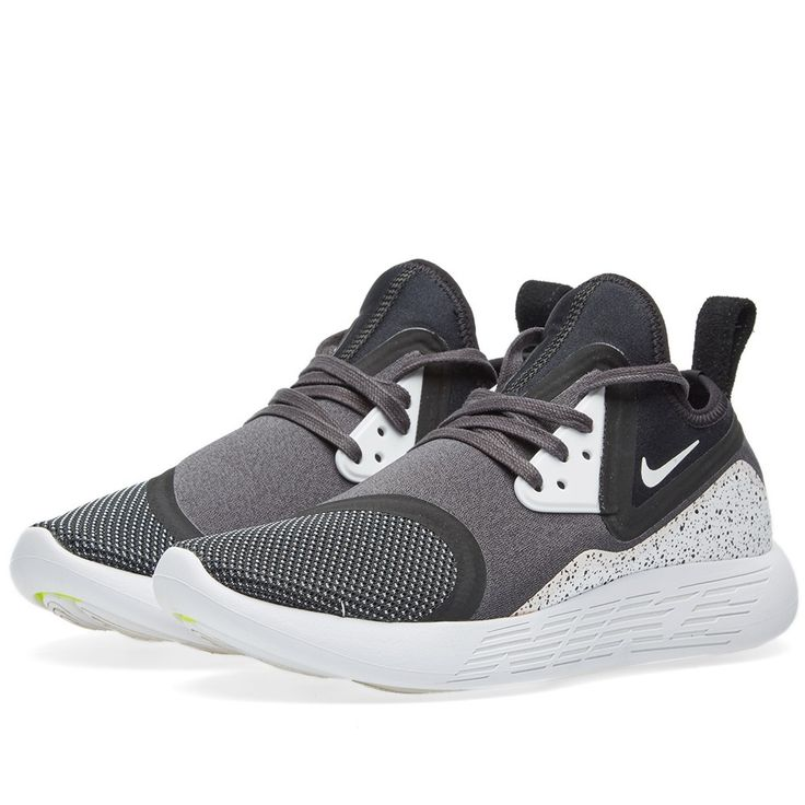 Referencing some of the cutting-edge innovations that have defined their past, for 2016 Nike unveil their latest innovation, the LunarCharge. Fusing elements borrowed from truly iconic styles – namely the Air presto, Nike Air Max 90 and Nike Air Current - the LunarCharge features a comfortable neoprene boot construction, sitting neatly atop a laser-siped cushioned outsole imbued with the impressive LunarEpic cushioning system.  Neoprene Upper Laser-siped Outsole LunarEpic Cushioning TPU…