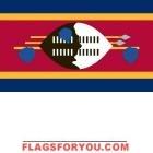 3' x 5' Swaziland High Wind, US Made Flag