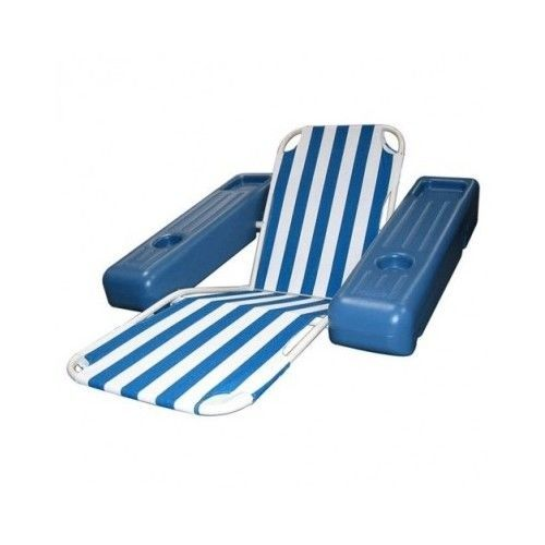 Pool Chaise In Water