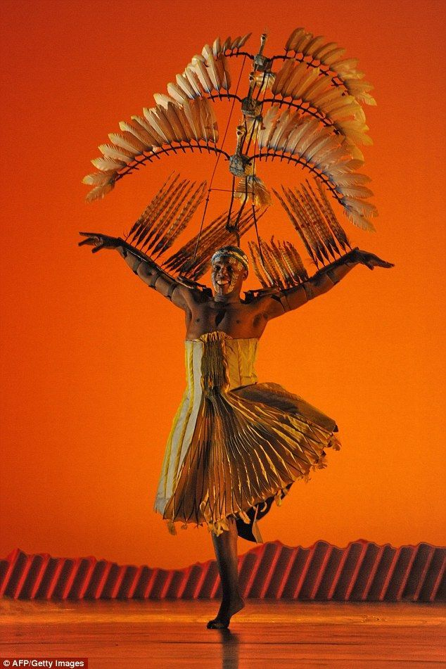 Lion King On Broadway - Bird Costume