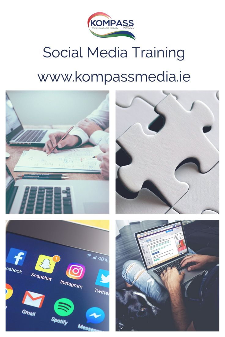 Social Media Training from Kompass Media. We provide standard and Tailor-made training course to leverage your business online. Learn from one of Ireland Leading Social Media Consultants and Trainer. Take you business to the next level on Social #SMTalks #BeSocial