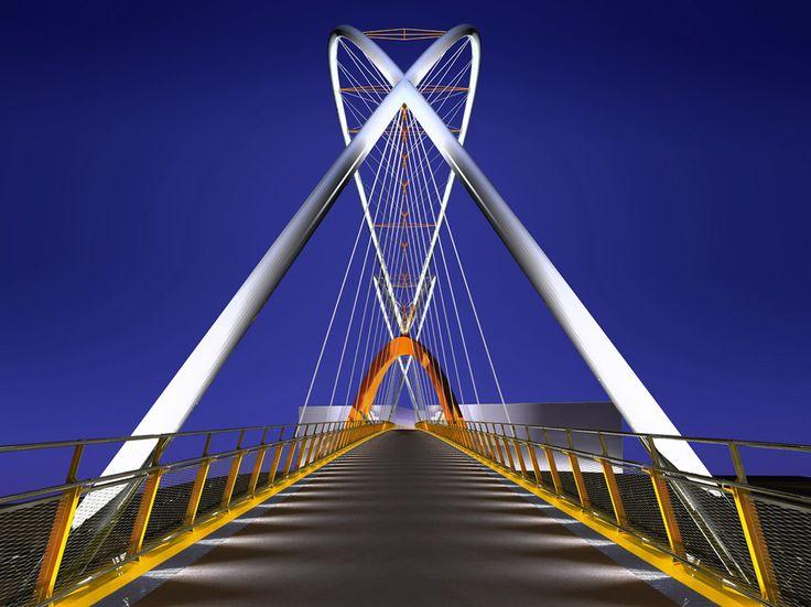 Czech republic,Karolina Bridge, Ostrava