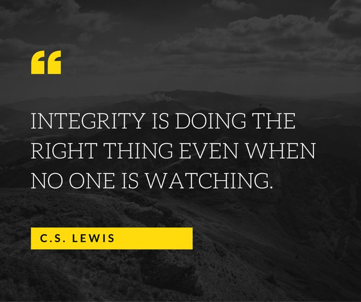 Success without integrity is Failure.
