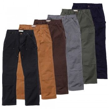 Carhartt Workwear Washed Trousers #workwear #saferwork #arbeitsschutzexpress #carhartt #quality
