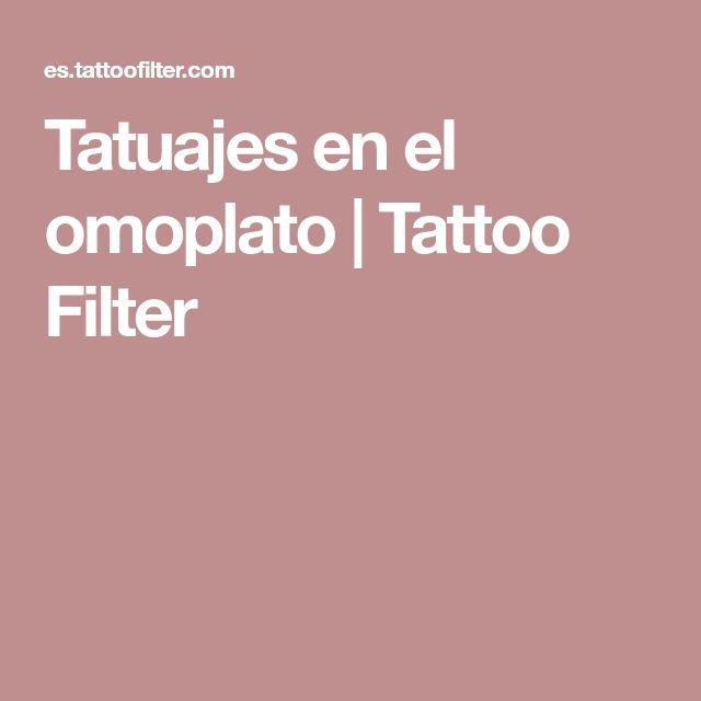 Tatuajes en el omoplato | Tattoo Filter