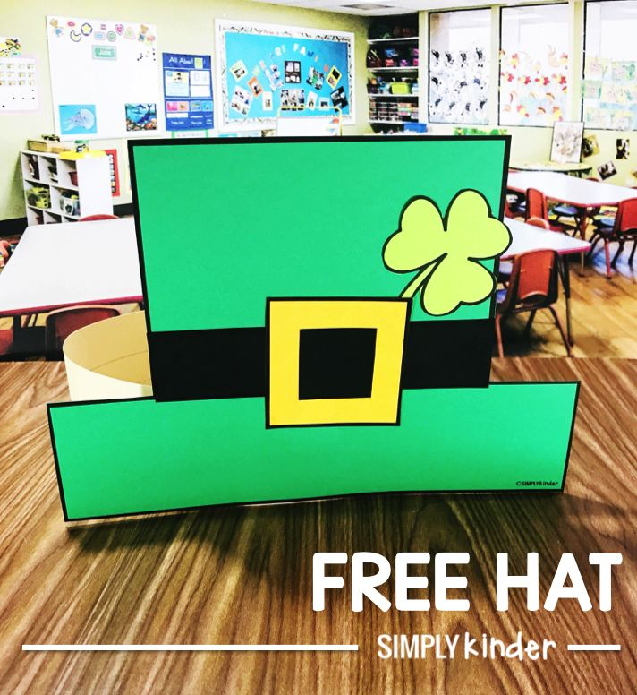 Free St. Patrick's Day Hat