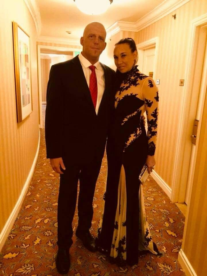 Goldust with calm, Wife Ta-rel Roche