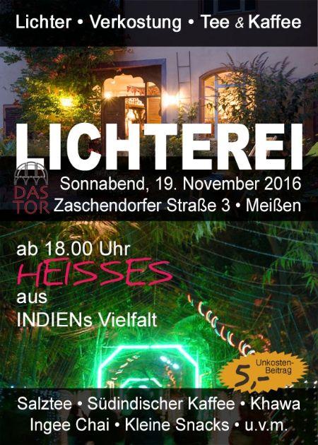 LICHTEREI: Meißen, 19. November 2016, ab