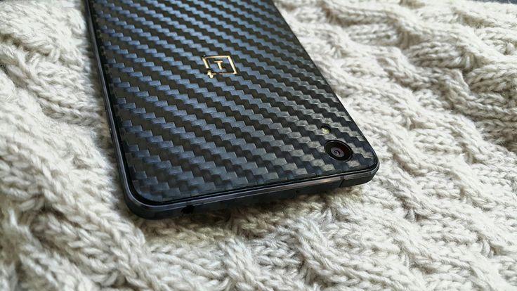 Folii Carbon 3M Black Oneplus X.