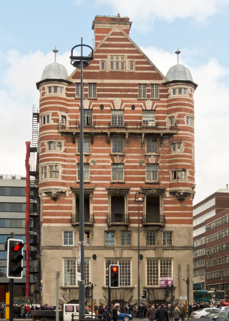 Beautiful building in Liverpool, now a hotel - 30 James Street.  It was the home of the White Star Line - owners of Titanic for many years.