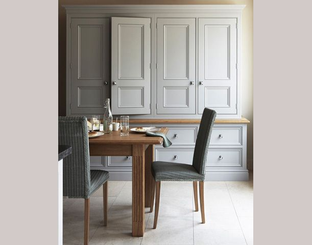 Glazed Cupboards, Sweet Custom Cabinetry To Look Like An Antique Hutch  Martin Moore U0026 Co