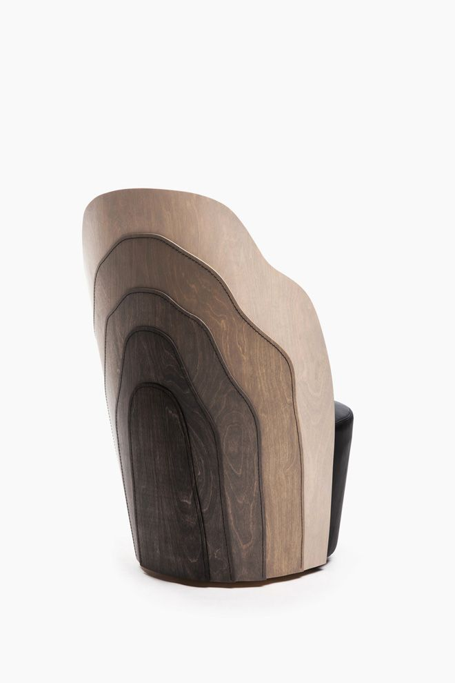1 Wood Layer Armchair By Fredrik Farg Emma Marga Blanche