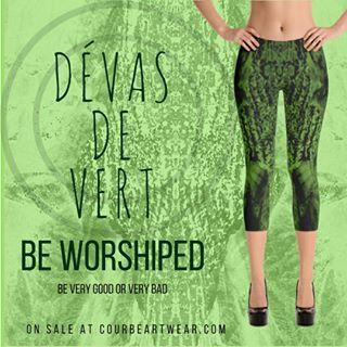 Be Worshiped 🙏  by the Dévas de Vert Capris Leggings, part of the Dévas Collection by Courbé Artwear... http://crwd.fr/2rXp0eh  #yoga #art #yogalove #yogalife #yogaleggings #yogalifestyle #activewear #artleggings #instalike #yogafashion #leggings #igfashion #fashionista #yoga4life #fashiongram #fashion #yogainspiration #activelife #yogagirl #fitnessaddict #fashionaddict #capris #caprisleggings  #devas