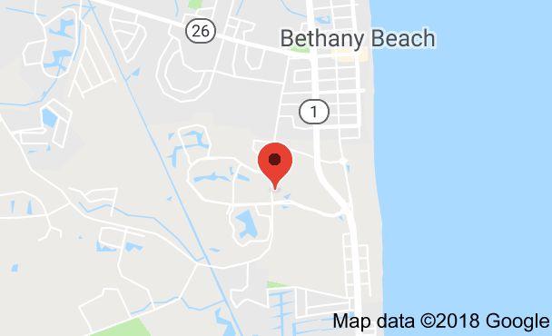 Map of 3501 Round Robin Way, Bethany Beach, DE 19930