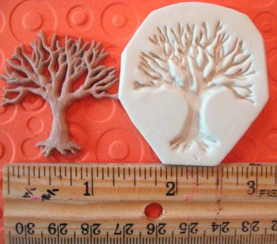 TREE  of life mold     NON FLEXIBLE hard     wiccan by MainlyMolds, $3.25