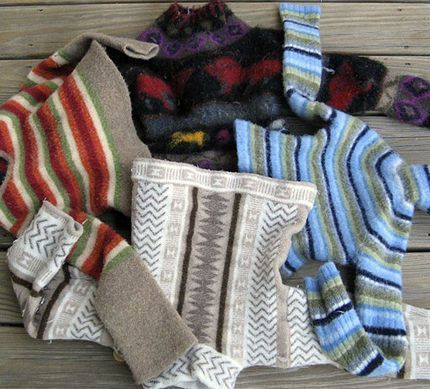 Rimedi della nonna per salvare un maglione infeltrito