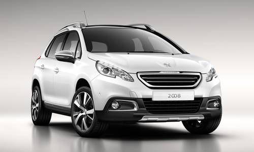 #Peugeot #2008. Robuste comme un SUV et compact comme un véhicule urbain.