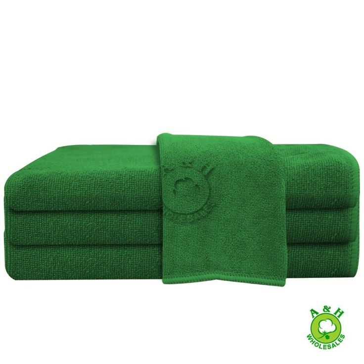 Green Hand Towels