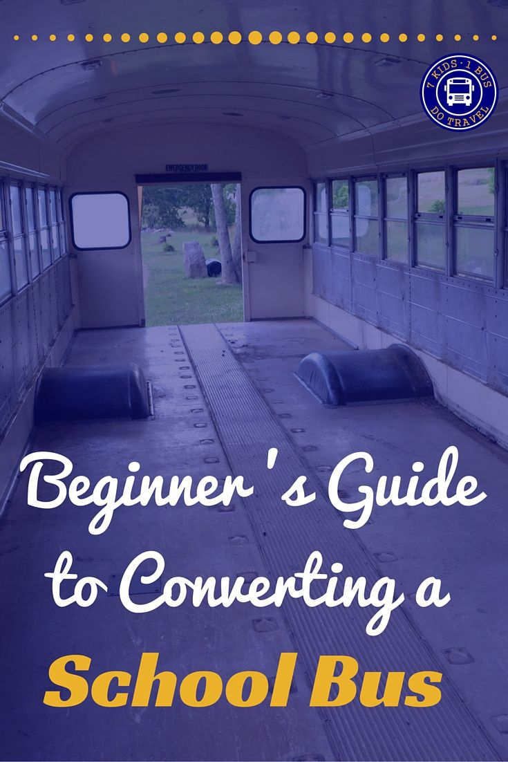 You bought a school bus to convert into a home on wheels, NOW WHAT? If you need some suggestions and tips on how to begin your conversion, click on this post. discoveringusbus.com