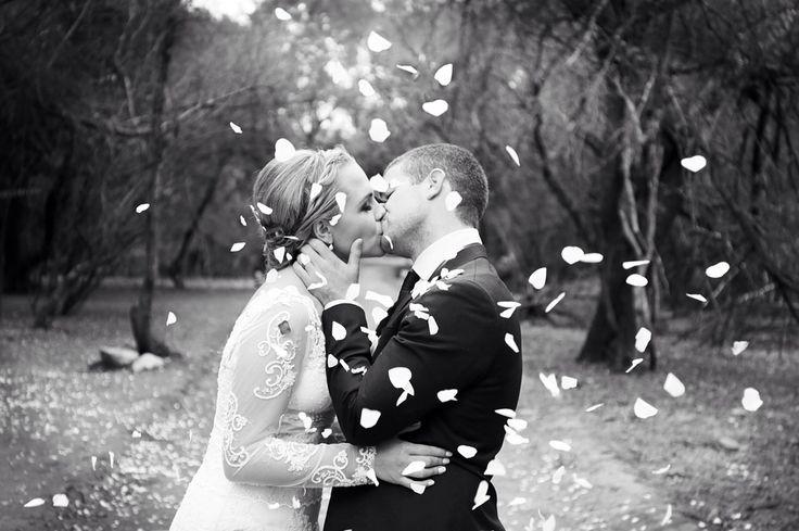 #Long_sleeved_wedding_dress #kissing #rustic_wedding