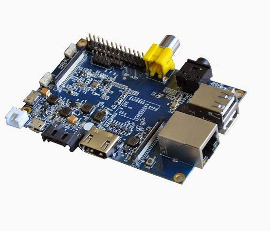Banana Pi - A Highend Single-Board Computer  Banana Pi is a single-board computer.  Banana Pi targets to be a cheap, small and flexible enough computer for daily life.  Built with ARM Cortex-A7 Dual-core CPU and Mali400MP2 GPU, and open source software, Banana Pi can serve as a platform to make lots of applications for different purposes.