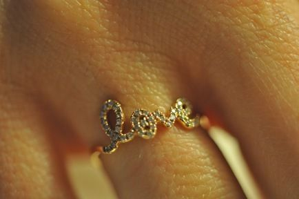 Image detail for -Fancy - XIV Karats Love Ring on we heart it / visual bookmark