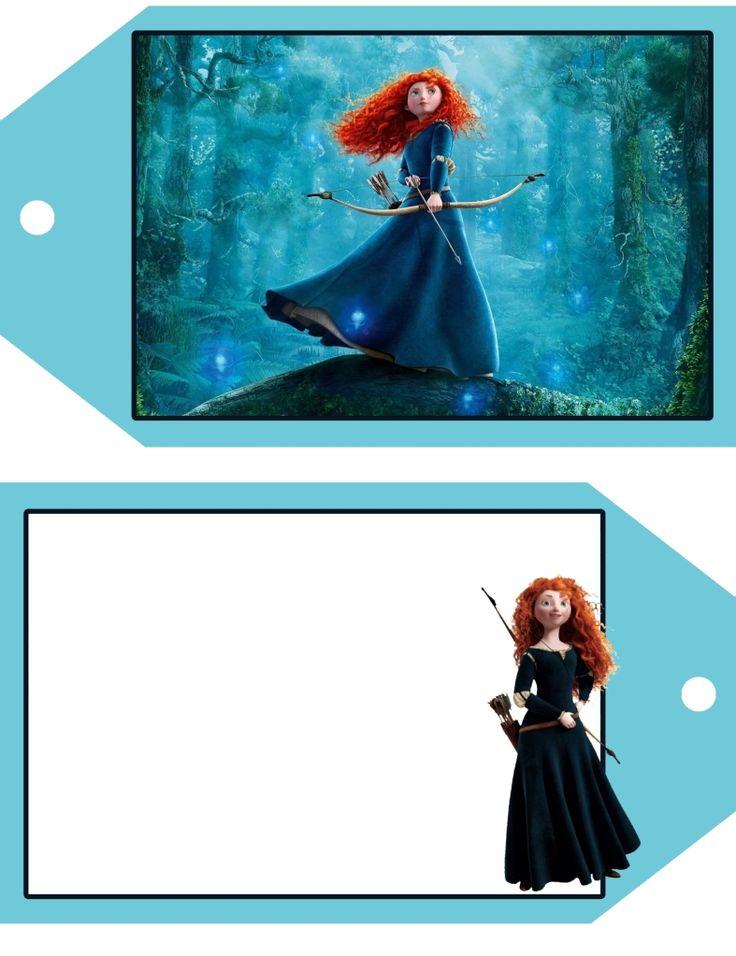 17 Best images about Brave/Merida Printables on Pinterest | Disney ...