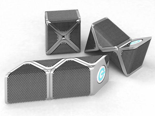 Snakes – Portable Speakers by Junonna Trotsiuk » Yanko Design