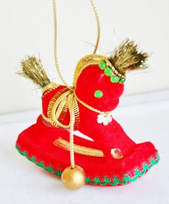 Christmas Tree Decorations Facebook: 20 Best Rocking Horse Christmas Ornaments Images On Pinterest
