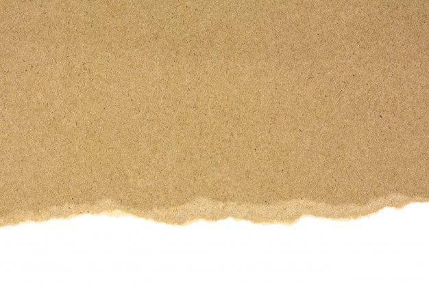 Ripped At A Brown Recycled Paper Isolated On White Background Marcos Del Cuaderno De Notas Plantillas De Fondo De Powerpoint Fondos De Colores
