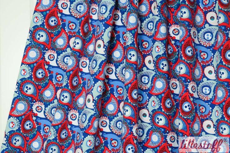lillestoff Woman » Paisley-Bluegreen « // Design: enemenemeins // hier erhältlich: http://www.lillestoff.com/paisleybluegreen.html