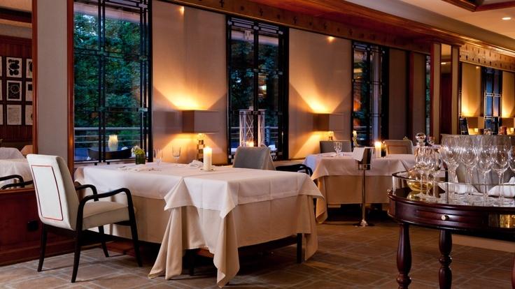 Schlossgarten Gourmetrestaurant Bernhard Diers at the Althoff Hotel am Schlossgarten in the heart of Stuttgart, Germany