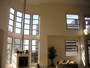 For Sale Long Beach Ca Penthouse Loft Living Room With