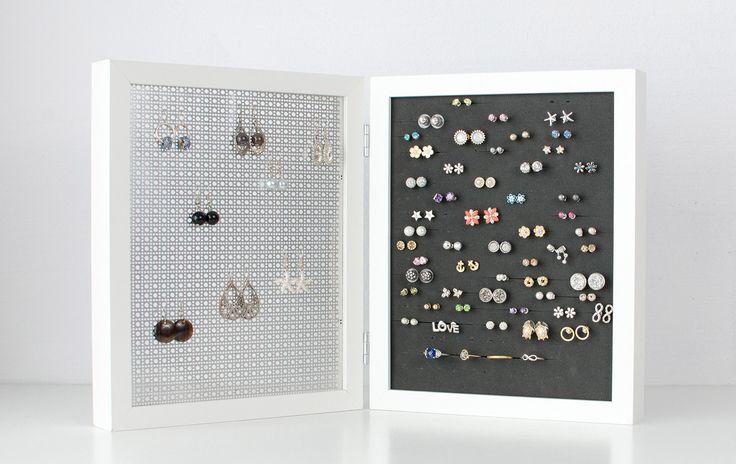 Best 25+ Stud earring organizer ideas on Pinterest | Stud ...