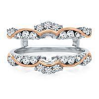 best 25 engagement ring enhancers ideas on pinterest split shank radiant cut engagement rings and radiant cut - Wedding Ring Enhancers