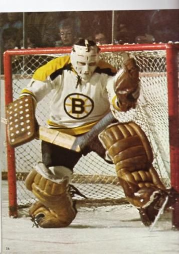 ed johnston with the bruins