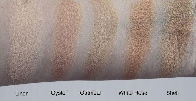 Pale Skin Make-Up: Sleek Foundation Tester Kit