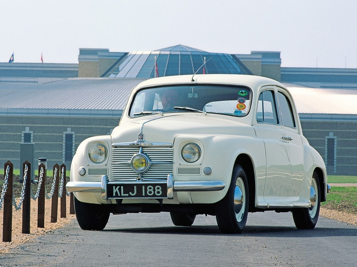 1949-54 Rover P4 75