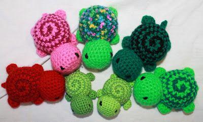 Kaldin Kreativ: Schildkröte mit Spiralenpanzer (kostenlose Anleitung by Kaldin)