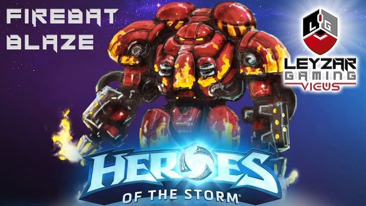 "Heroes of the Storm (News) - New Hero Firebat ""Blaze"" Announced"