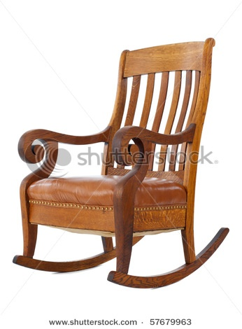 Antique Rocking Chair - like the style!!