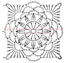 Картинки по запросу кофты крючком из квадратных мотивов